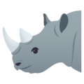 Rhinoceros on JoyPixels 4.5