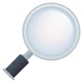 Magnifying Glass Tilted Right on EmojiOne 4.5