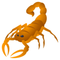 Scorpion on EmojiOne 4.5