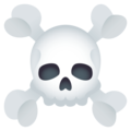 Skull and Crossbones on JoyPixels 4.5