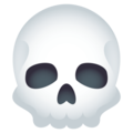 Skull on EmojiOne 4.5