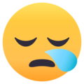 Sleepy Face on EmojiOne 4.5
