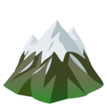 Snow-Capped Mountain on EmojiOne 4.5