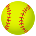 Softball on JoyPixels 4.5