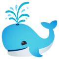 Spouting Whale on EmojiOne 4.5