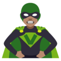 Supervillain: Medium Skin Tone on JoyPixels 4.5