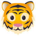 Tiger Face on JoyPixels 4.5