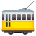 Tram Car on EmojiOne 4.5