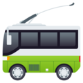 Trolleybus on JoyPixels 4.5