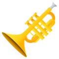Trumpet on EmojiOne 4.5