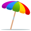 Umbrella on Ground on JoyPixels 4.5