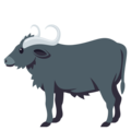 Water Buffalo on EmojiOne 4.5