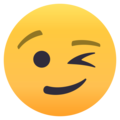 Winking Face on EmojiOne 4.5