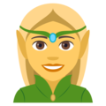 Woman Elf on JoyPixels 4.5
