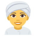 Woman Wearing Turban on EmojiOne 4.5