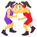 Women Wrestling on EmojiOne 4.5