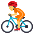 Person Biking on JoyPixels 5.0