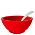 Bowl With Spoon on JoyPixels 5.0