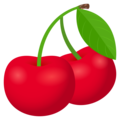 Cherries on JoyPixels 5.0