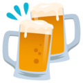 Clinking Beer Mugs on JoyPixels 5.0