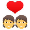 Couple With Heart on JoyPixels 5.0
