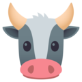 Cow Face on JoyPixels 5.0