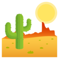 Desert on JoyPixels 5.0