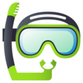 Diving Mask on JoyPixels 5.0
