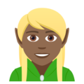 Elf: Medium-Dark Skin Tone on JoyPixels 5.0