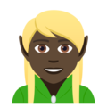 Elf: Dark Skin Tone on JoyPixels 5.0