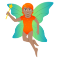 Fairy: Medium Skin Tone on JoyPixels 5.0