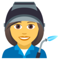 Woman Factory Worker on JoyPixels 5.0