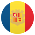 Flag: Andorra on JoyPixels 5.0