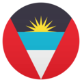 Flag: Antigua & Barbuda on JoyPixels 5.0