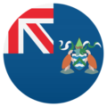 Flag: Ascension Island on JoyPixels 5.0