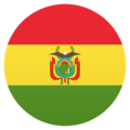 Flag: Bolivia on JoyPixels 5.0