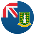 Flag: British Virgin Islands on JoyPixels 5.0