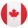Flag: Canada on JoyPixels 5.0