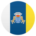 Flag: Canary Islands on JoyPixels 5.0