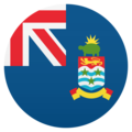 Flag: Cayman Islands on JoyPixels 5.0
