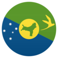 Flag: Christmas Island on JoyPixels 5.0