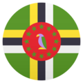 Flag: Dominica on JoyPixels 5.0