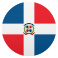 Flag: Dominican Republic on JoyPixels 5.0