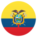 Flag: Ecuador on JoyPixels 5.0
