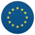 Flag: European Union on JoyPixels 5.0