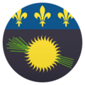Flag: Guadeloupe on JoyPixels 5.0