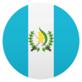 Flag: Guatemala on JoyPixels 5.0