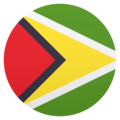 Flag: Guyana on JoyPixels 5.0