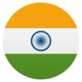 Flag: India on JoyPixels 5.0