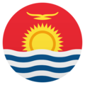 Flag: Kiribati on JoyPixels 5.0